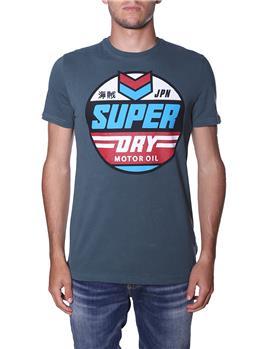 T-shirt superdry uomo stampa EAGLE GREEN