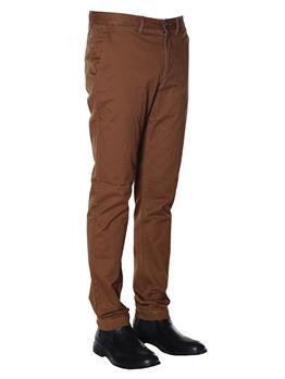 Pantaloni lacoste chino uomo MARRONE