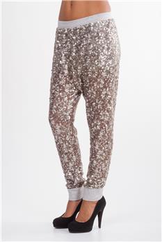 Pantalone manila grace fiori ORO