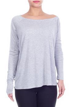 T-shirt manila grace lurex GRIGIO