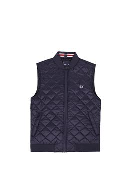 Gilet fred perry uomo BLU