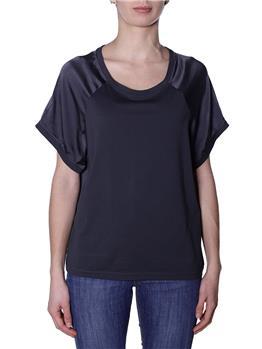 T-shirt manila grace raso NERO