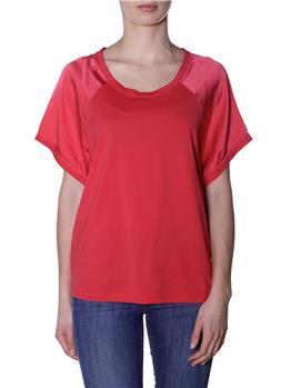T-shirt manila grace raso ROSSO