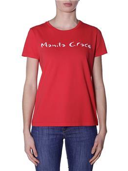 T-shirt manila grace classica ROSSO