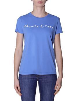 T-shirt manila grace classica CELESTE ZANZIBAR