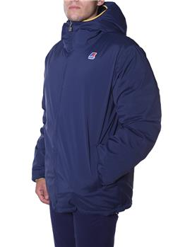 K-way piumino double stretch BLU