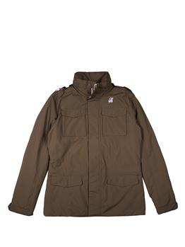 Field jacket k-way uomo BROWN OLIVA
