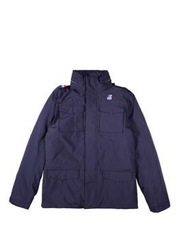 Field jacket k-way uomo BLUE DEPHT