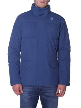 Field jacket uomo marmotta DEPHT BLUE-ANTRACITE