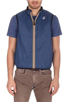 Gilet k-way uomo levrai 3.0 BLUE DEEP