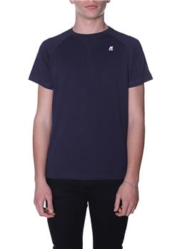 T-shirt k-way uomo basica BLUE DEPHT