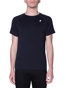 T-shirt k-way classica uomo BLACK