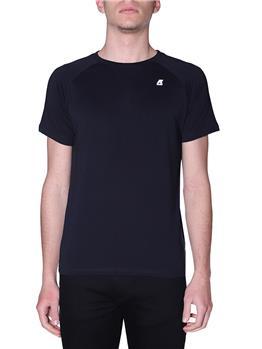 T-shirt k-way classica uomo BLACK