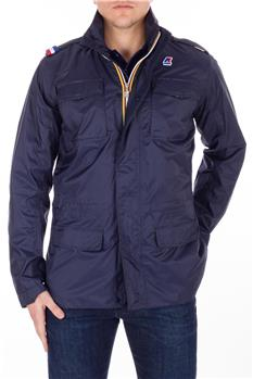 K-way field jacket jersey BLUE DEPHT
