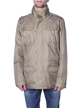 Field jacket k-way uomo BEIGE KHAKI