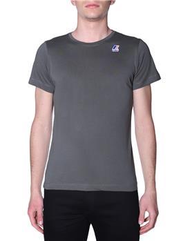 T-shirt k-way uomo classica BLACK TORBA