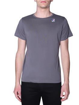 T-shirt k-way uomo classica GREY SMOKE