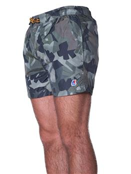 K-way costume boxer mare HAZEL CAMO GREEN