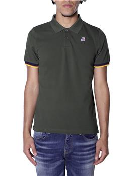 Polo k-way vincent contrast GREEN AFRICA