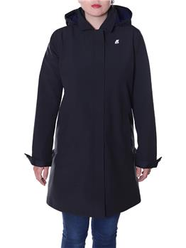 Impermeabile trench k-way BLACK PURE