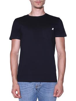 T-shirt k-way classica BLACK