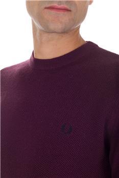 Maglia fred perry lana cotone ROYAL VINACCIA