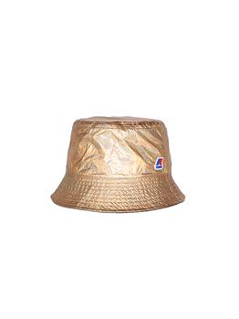 Cappello k-wy donna double GOLD METAL BLACK PURE