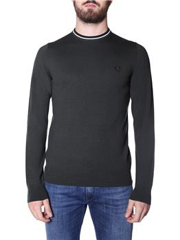 Maglia fred perry uomo HNT GRN SWHT BLK