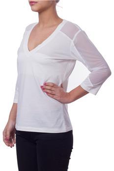 Twin set t-shirt manica 3/4 PANNA P6