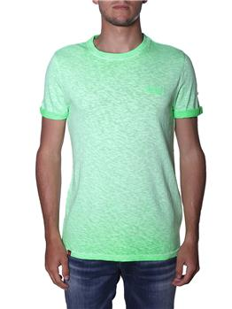 T-shirt superdry uomo classica SURGE GREEN