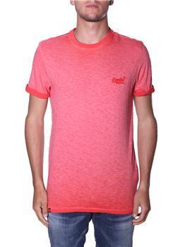T-shirt superdry uomo classica SUGAR RED