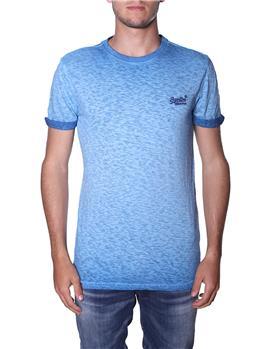 T-shirt superdry uomo classica NAVY