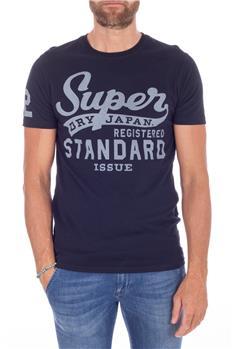 Superdry t-shirt uomo vintage BLU