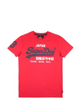 Superdry t-shirt vintage uomo ROSSO