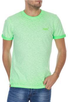 Superdry t-shirt low roller VERDE FLUO