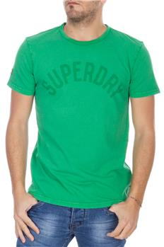 Superdry t-shirt solo sport VERDE FLUO