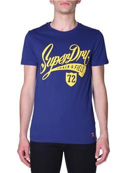 T-shirt superdry collegiate SUPERMARINE NAVY