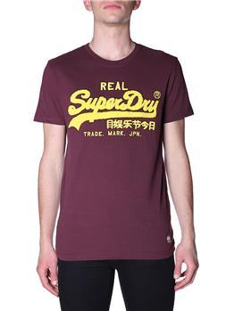 T-shirt superdry chenille tee DEEP PORT