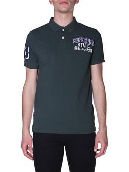 Polo superdry superstate polo DARK FOREST