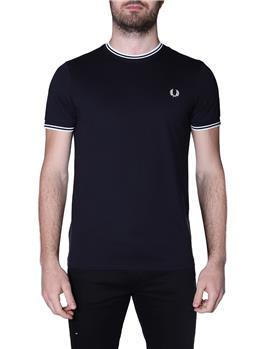 T-shirt fred perry uomo BLACK P1