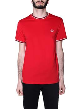 T-shirt fred perry uomo JESTER RED