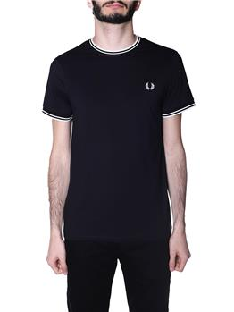 T-shirt fred perry uomo BLACK
