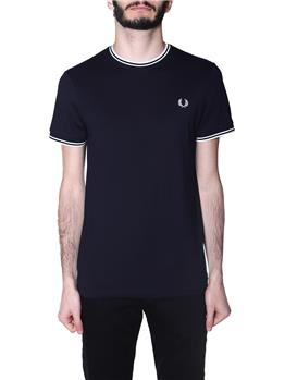 T-shirt fred perry uomo NAVY