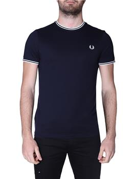T-shirt fred perry uomo NAVY P1