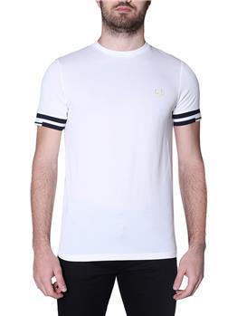 T-shirt fred perry uomo SNOW WHITE P1