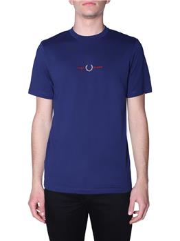 T-shirt fred perry uomo FRENCH NAVY