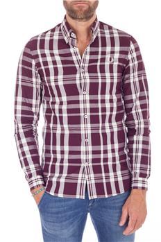 Fred perry camicia quadri BORDEAUX
