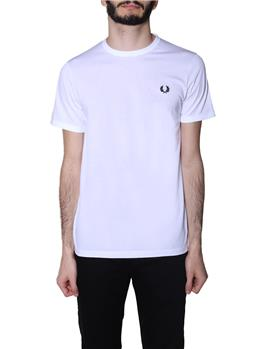 T-shirt fred perry uomo WHITE