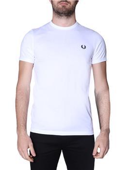 T-shirt fred perry uomo WHITE P1
