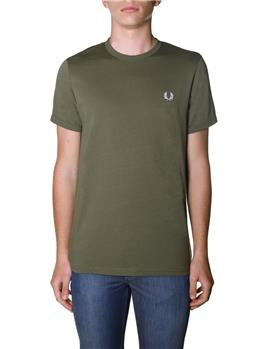 T-shirt fred perry uomo MILITARY GREEN